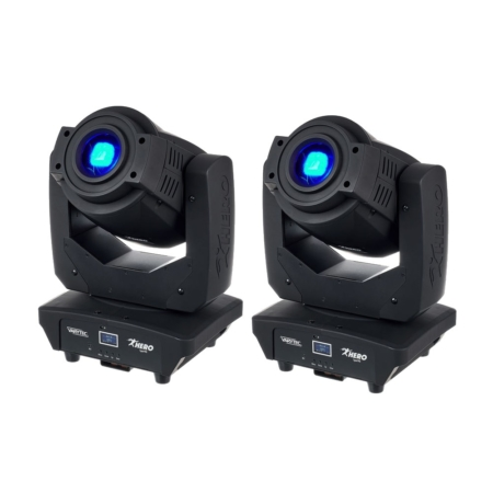 Moving head udlejning (2 stk)